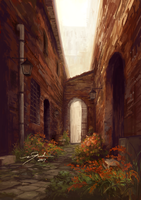 Alley by PyriteKite