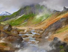 Iceland landmannalaugar attempt 3b by andrekosslick