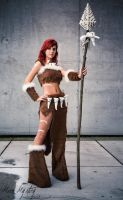 Nidalee Cosplay by MarieMystery