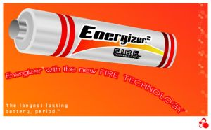 Energizer Battery Ad by lilesdesign