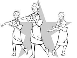 Dancing Housekeepers by nippori
