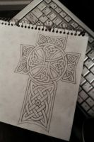 Lexy's Cross Tattoo Design by krutch99