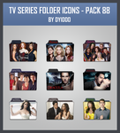 TV Series Folder Icons - Pack 88 by DYIDDO