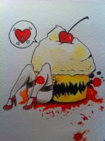 Killer Cupcake by WhereIsJambon