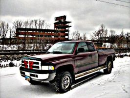My Dodge At Gateway by LDLAWRENCE