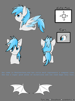 Weathervane char sheet (for contest) by BlueAcrylicFox