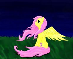 Fluttershy by creepyeevee