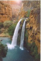 Havasu Falls by Kymography