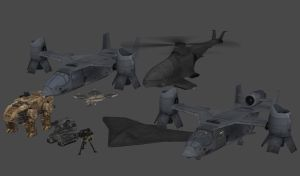 Black Ops 2 Vehicles and Weapons Part 1 by redbaron7