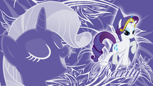 A Rare Diamond - Rarity Wallpaper by cradet