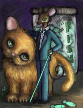 Mr Mouse - Cat Tamer! by Yayjennies