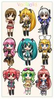 Series 1 - Vocaloid Girls by Akage-no-Hime