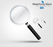 Magnifying Glass Icon - inventlayout.com by atifarshad