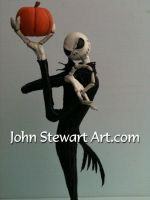 Nightmare before Christmas scratch-made model by johnstewartart