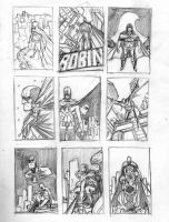Red Robin cover layouts by 0boywonder0