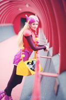 Big Hero 6 - Honey Lemon Cosplay (Battle Suit) by mimsrocks