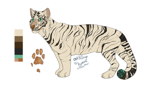 White Tiger character by Psitt
