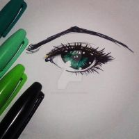 Blue Eye by MagaMaguita