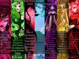 Seven Deadly Villains by Nightsong91