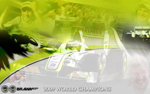 Brawn GP World Champions by FordGT