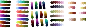 Sai made Palettes :U by SquirrellyWrathGrl