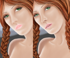 Pin-Up Touch-Up Preview by Candrence