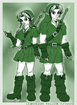 Link and Knil by lemonadeyellow