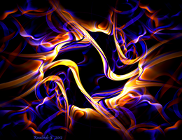 Molten Neon by fractal1
