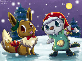 PMD Secret Santa - Team Fortune by sapphireluna