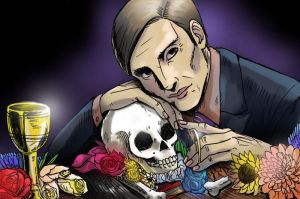 Hannibal with Mischa by LadyDeadPooly