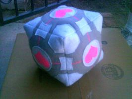 Companion cube by millylilly14
