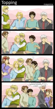 Hetalia: Topping by mayanna