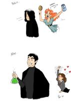 Snape is HAWT by BehindtheVeil