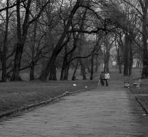 walk in a rainy day by HeretyczkaA