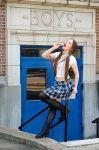 Good Morning Little School Girl by nikongriffin