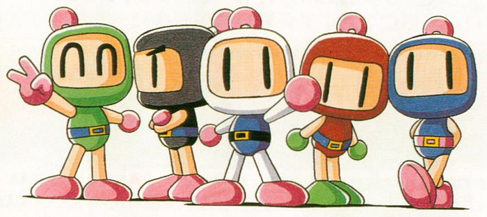 Bomberman And His Friends by maty543210