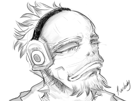 Quick Ranboob Sketch by Ranbooby