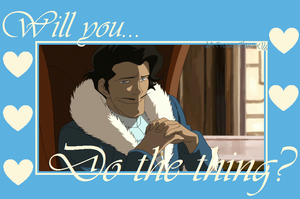 Valentine of Korra: Do the thing by FrozenClaws