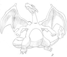 Charizard Updated by Blackwind06