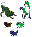 Wolf Breedings litter 5of5 by AerithsAdopts