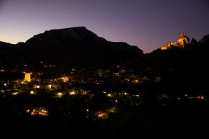Peyreleau by Night by Abylone