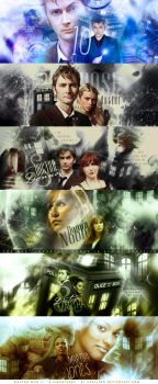 Doctor Who II : 6 signatures by Carllton