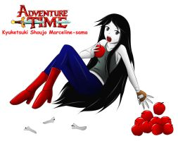Marceline Adventure Time TB rendition by trainbang