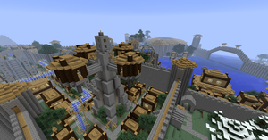 Minecraft: Manasia - Fortress City 14 by Denis-Manase