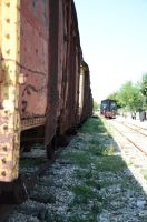 Side view of freight by MikeyHramiak
