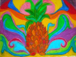 Powerful Pineapple by MissElsy