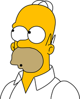 Homer Simpson by JamesHet