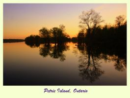 Petrie Island Reflections by Of-Heliotropes