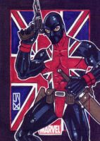 union jack marvel 70th by johnjackman