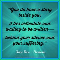 Anne Rice Quote 2 by Mulluane